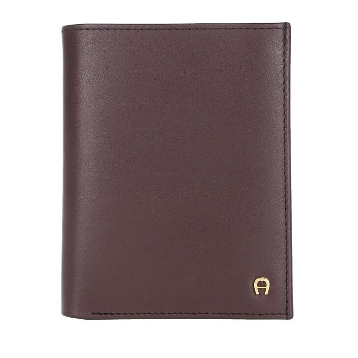 Geldbörse, AIGNER, Basic Wallet Antic Red