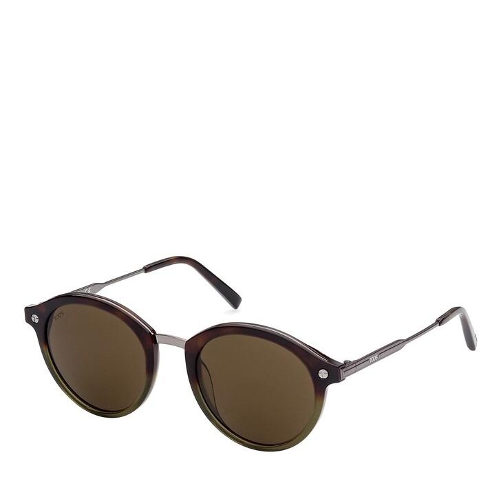 Sonnenbrille, Tod's, TO0305 Havanna/Brown