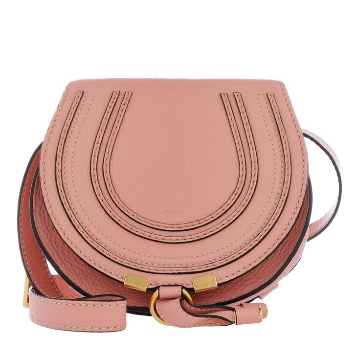 Handtasche, Chloé, Marcie Crossbody Small Fallow Pink