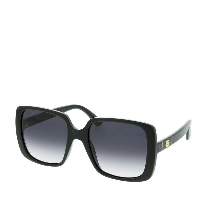 Sonnenbrille, Gucci, GG0632S-001 56 Sunglasses Black-Black-Grey