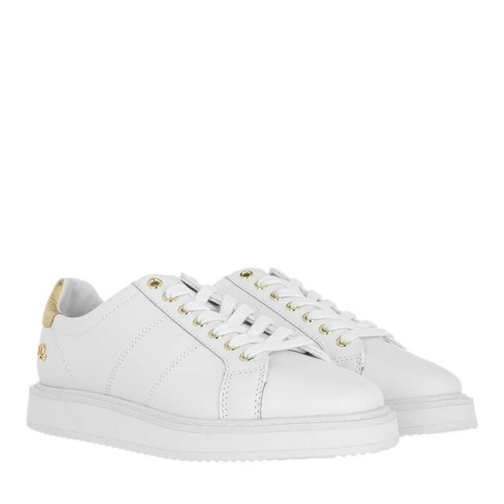 Schuh, Lauren Ralph Lauren, Angeline Ii Sneakers Athletic Shoe White/Rlgold