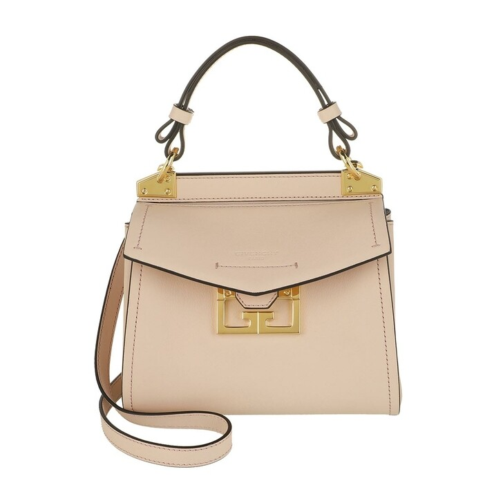 bags, Givenchy, Mini Mystic Satchel Bag Leather Pale Pink