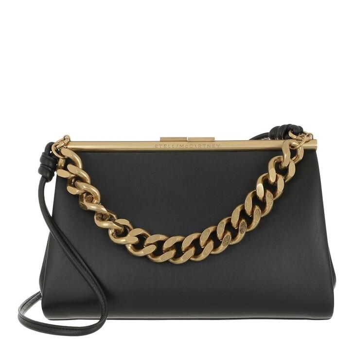 Handtasche, Stella McCartney, Medium Structured Crossbody Bag Black
