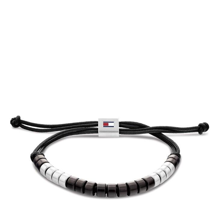 Armreif, Tommy Hilfiger, brushed beaded Bracelet Black