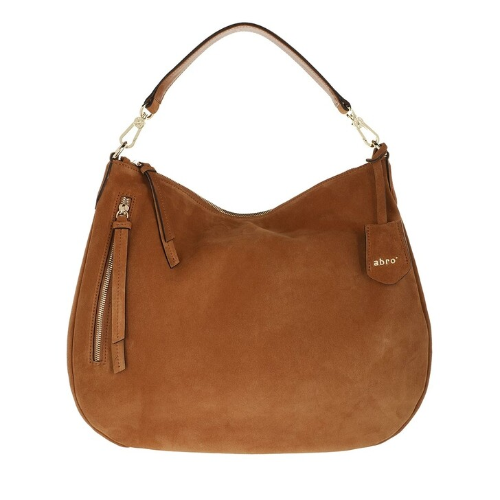 bags, Abro, Large Shoulder Bag Juna Camel