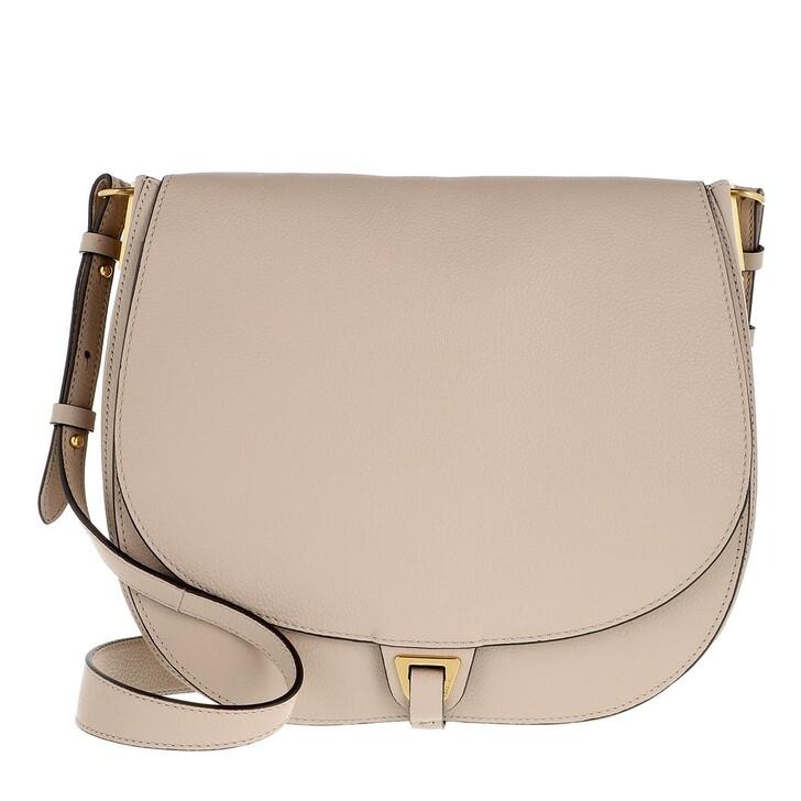Handtasche, Coccinelle, Arpege Flap Crossbody Bag Powder Pink/Warm Beige