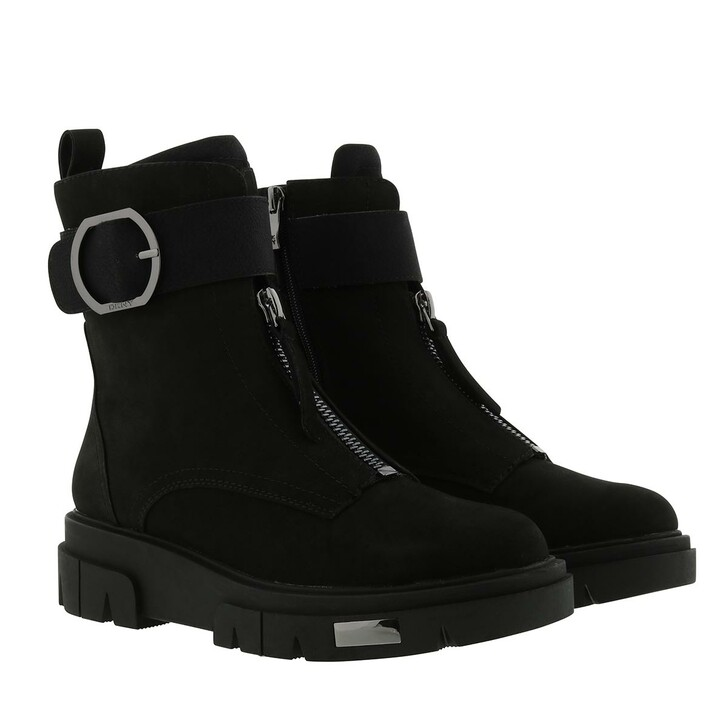 Schuh, DKNY, Laina Ankle Boot Leather Black