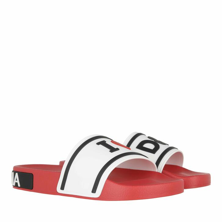shoes, Dolce&Gabbana, Beach Slider Multicolor