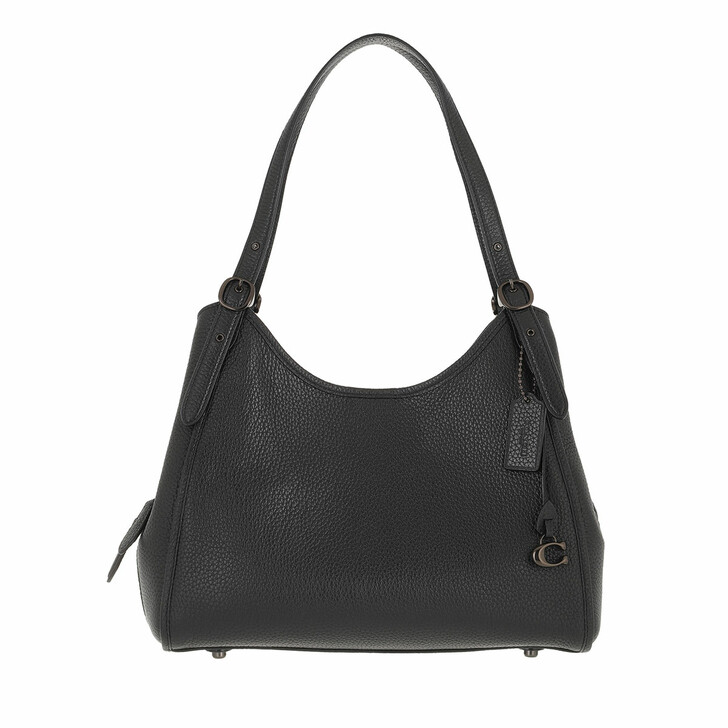 bags, Coach, Soft Pebble Leather Archival Edie Black