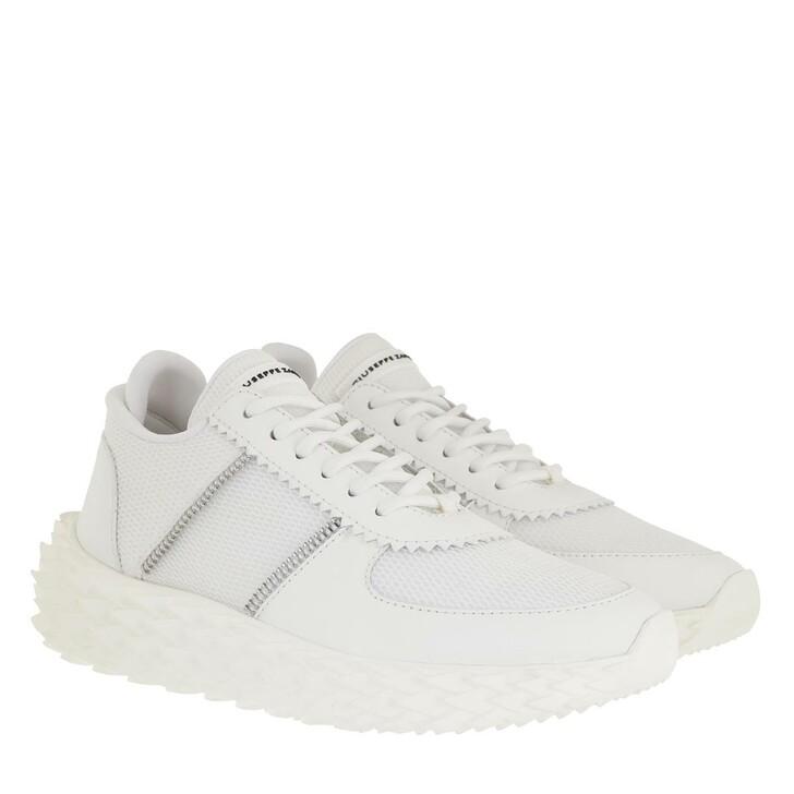 Schuh, Giuseppe Zanotti, Ulan Sneaker White