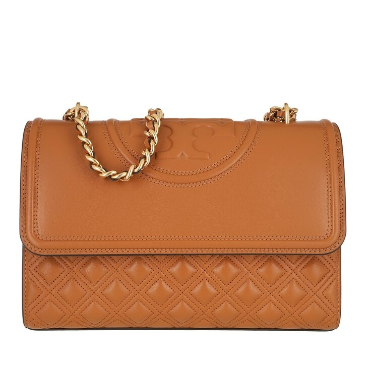 Handtasche, Tory Burch, Fleming Convertible Shoulder Bag Kobicha