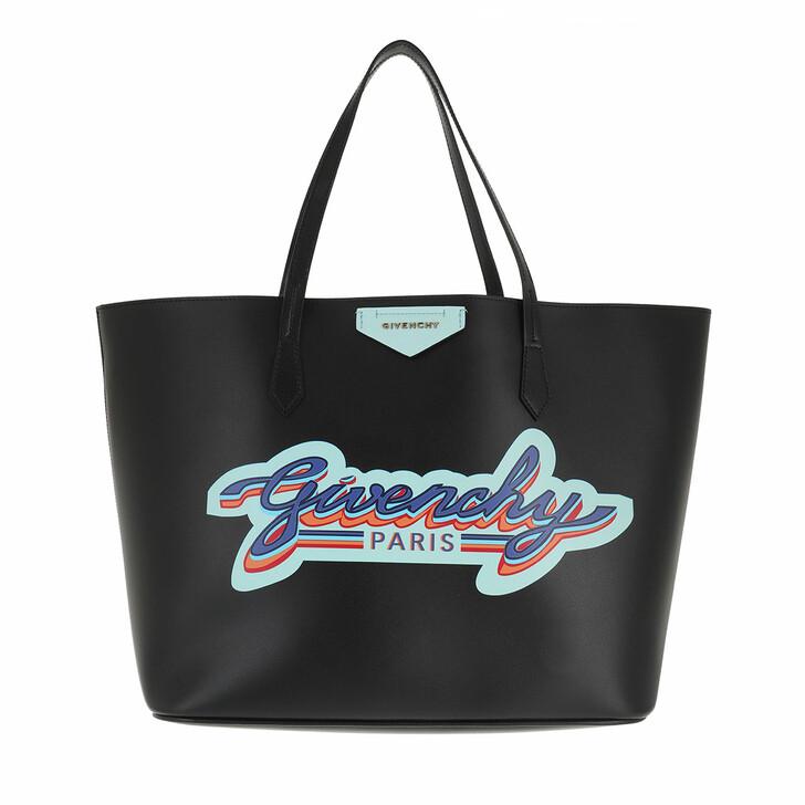 bags, Givenchy, Logo Shopper Black