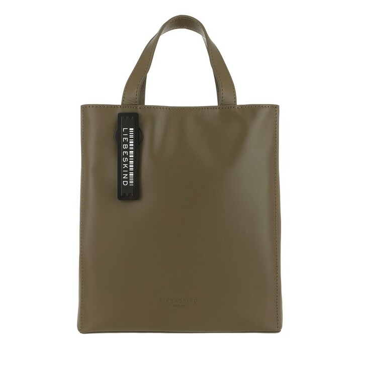 Handtasche, Liebeskind Berlin, Paper Bag Small Tote Umber Green