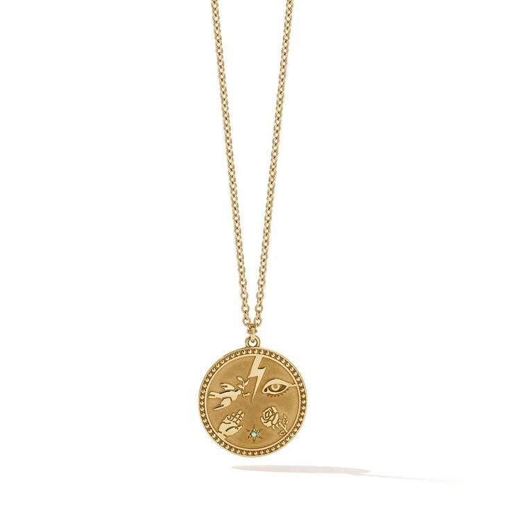 Kette, Meadowlark, Talisman Necklace 50 cm Gold Plated