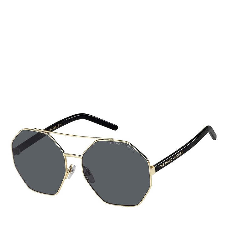 Sonnenbrille, Marc Jacobs, MARC 524/S GOLD BLACK