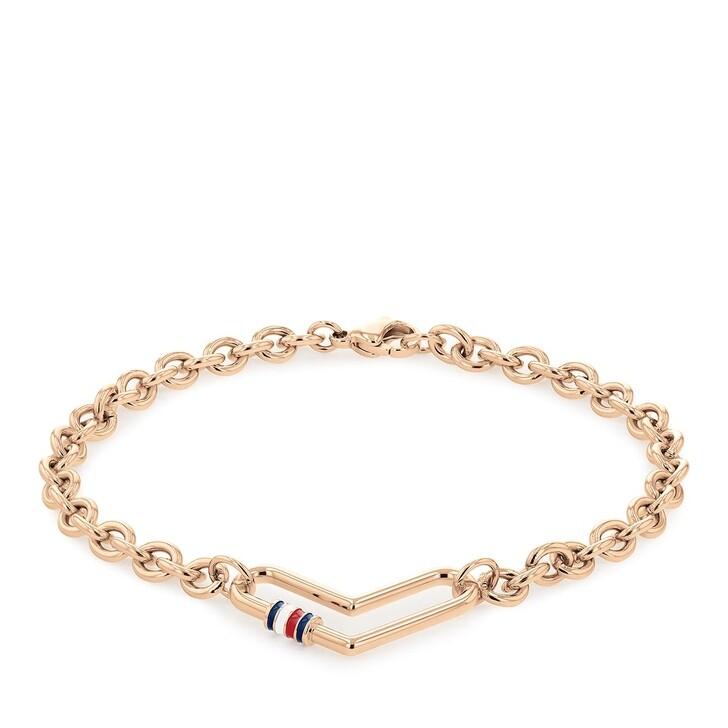 bracelets, Tommy Hilfiger, Bracelet Rosé Gold