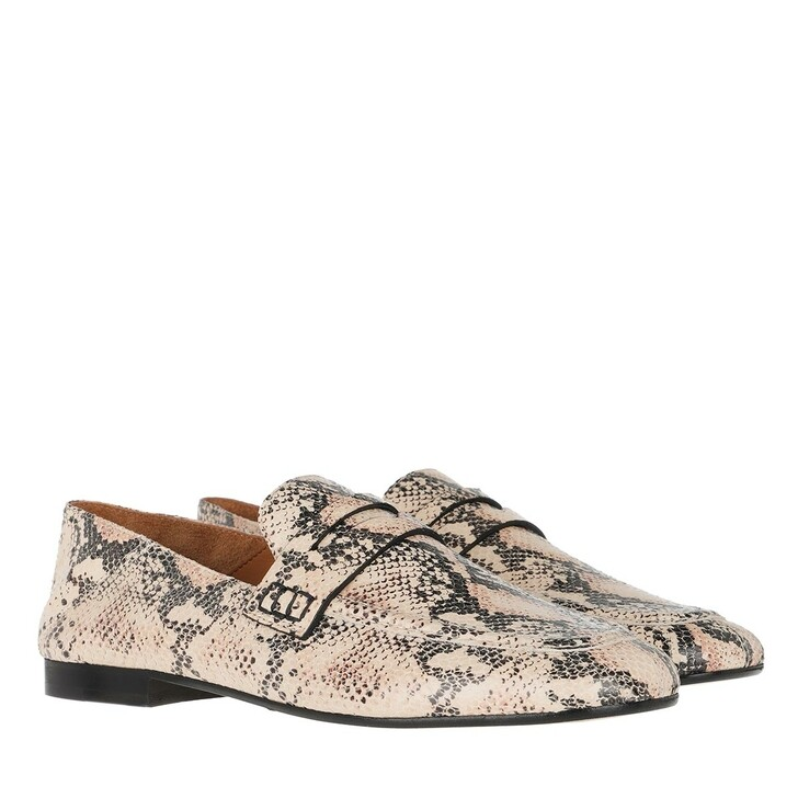 Schuh, Isabel Marant, Exotic Story Loafers Nude