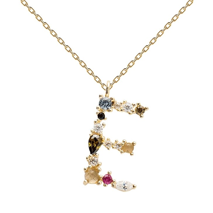 Kette, PDPAOLA, E Necklace Yellow Gold
