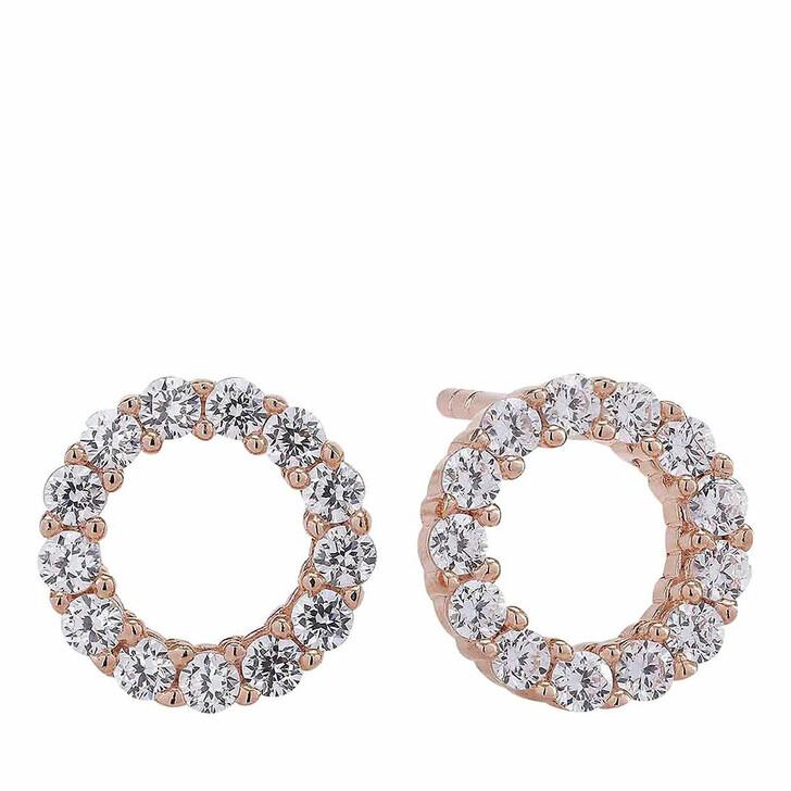 earrings, Sif Jakobs Jewellery, Biella Uno Piccolo Earrings 18K Rose Gold Plated