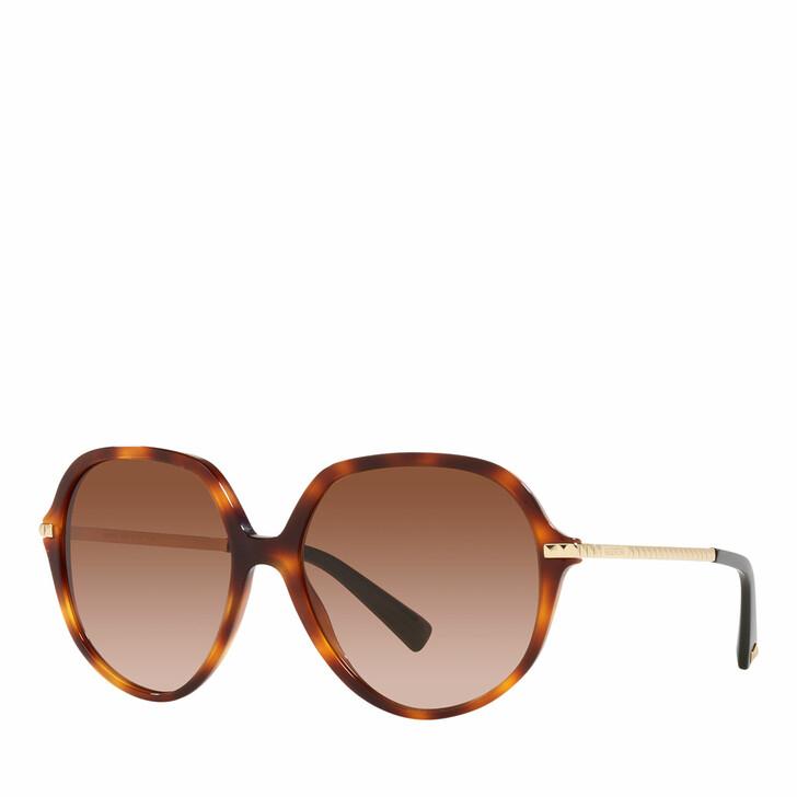 sunglasses, Valentino Garavani, Woman Sunglasses 0VA4099 Light Havana