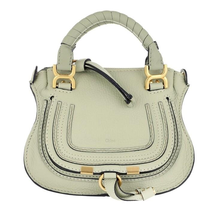 Handtasche, Chloé, Mini Marcie Crossbody Bag Light Eucalyptus