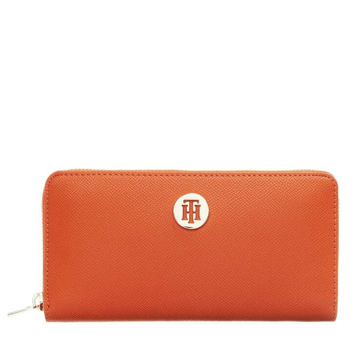 Geldbörse, Tommy Hilfiger, Honey Large Za Wallet Tuscon Orange