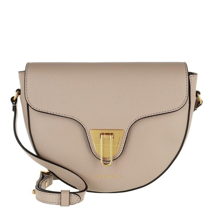 bags, Coccinelle, Beat Soft Handbag Bottalatino Leather Powder Pink