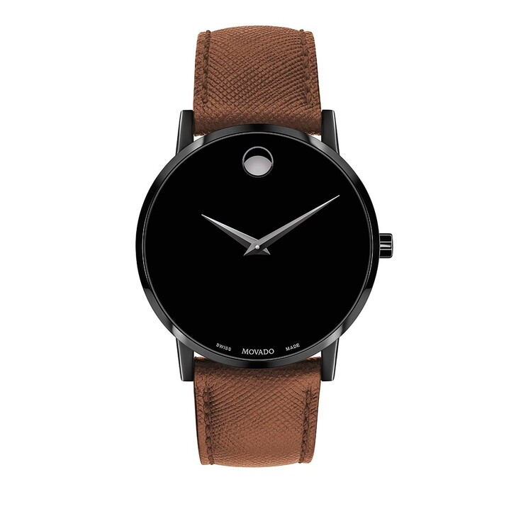 Uhr, Movado, Museum Classic Watch Brown