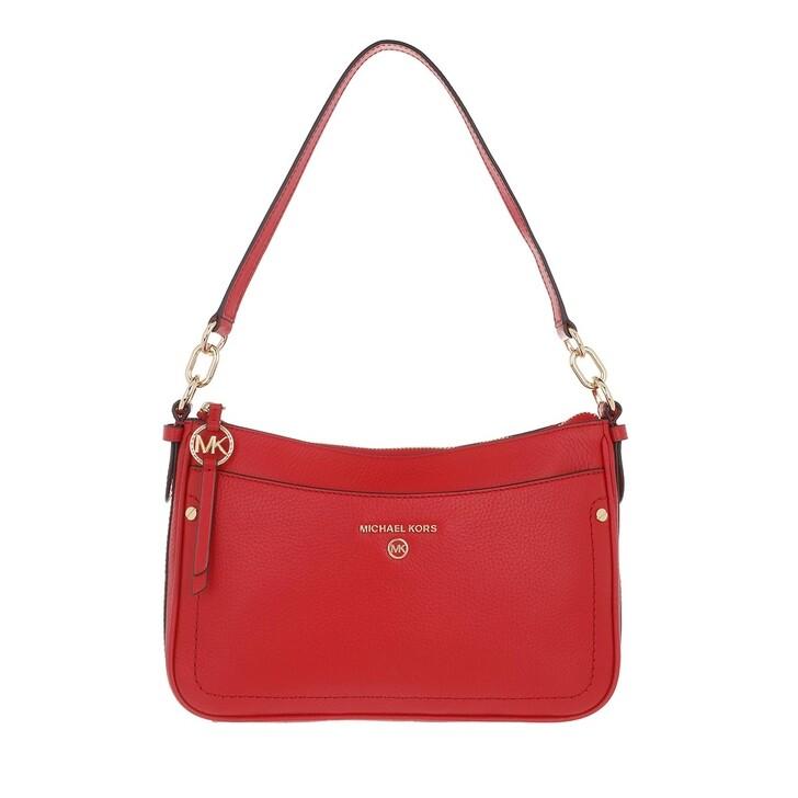 Handtasche, MICHAEL Michael Kors, Medium Tz Pochette  Handbag  Leather Bright Red