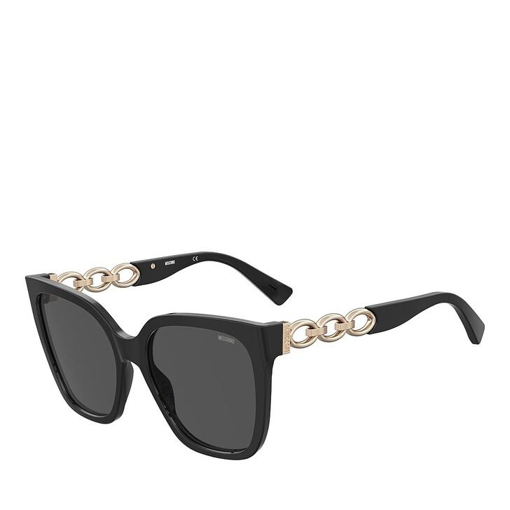 Sonnenbrille, Moschino, MOS098/S BLACK