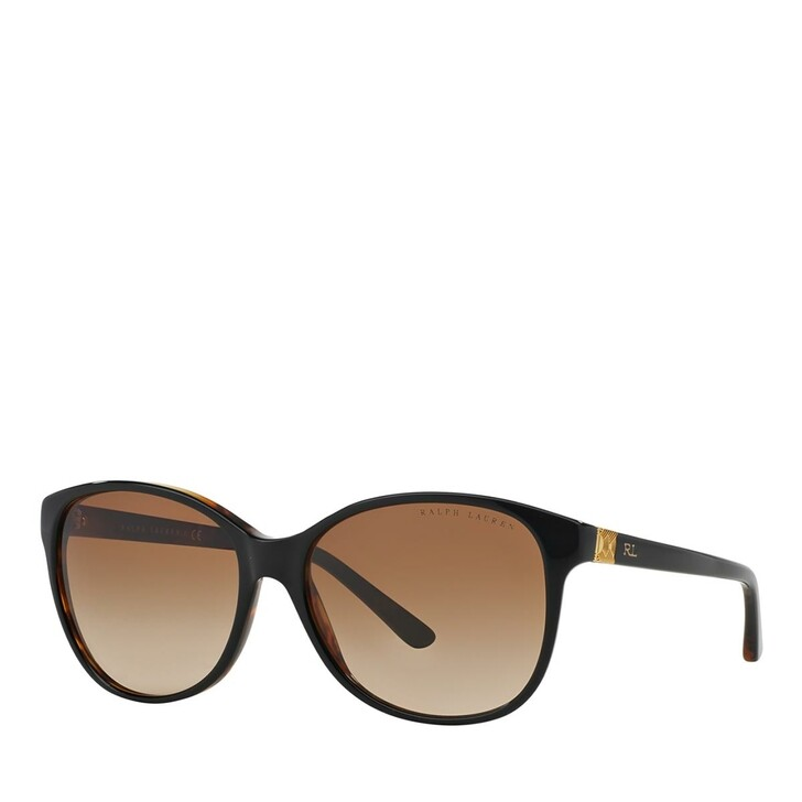 sunglasses, Ralph Lauren, 0RL8116 Shiny Black On Jerry Havana