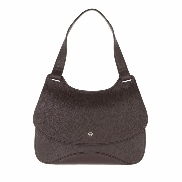 bags, AIGNER, Selma Bag Espresso Brown