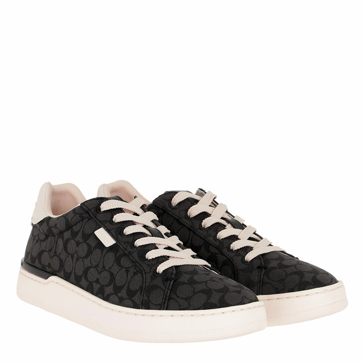 Schuh, Coach, Low Line Top Sneaker Black