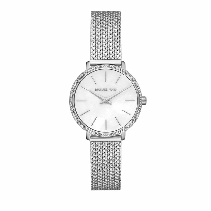Uhr, Michael Kors, Pyper Two-Hand Stainless Steel Watch Silver