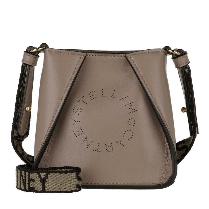 bags, Stella McCartney, Micro Tote Bag Eco Soft Alt Nappa Logo Moss