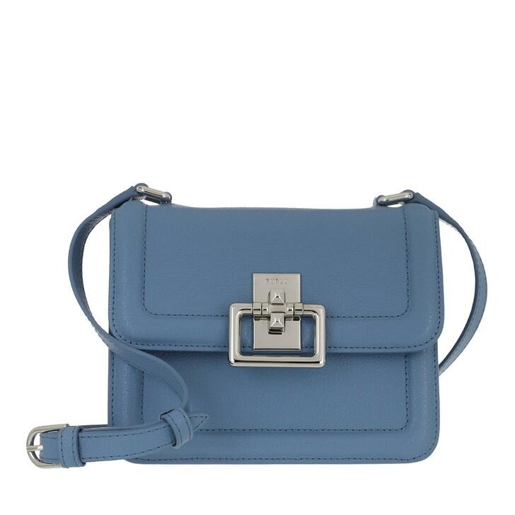 bags, Furla, Furla Villa Mini Crossbody Light Blue