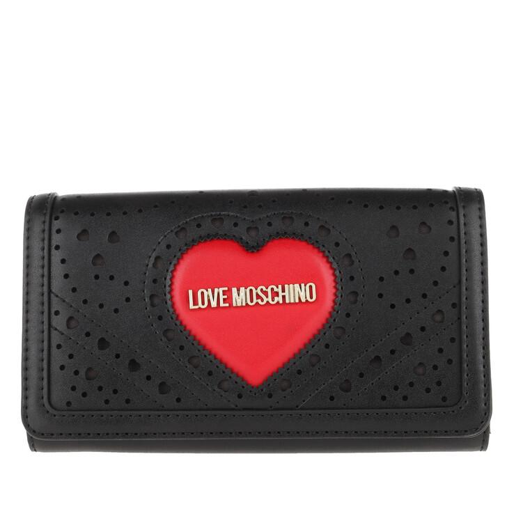 Geldbörse, Love Moschino, Wallet Nero