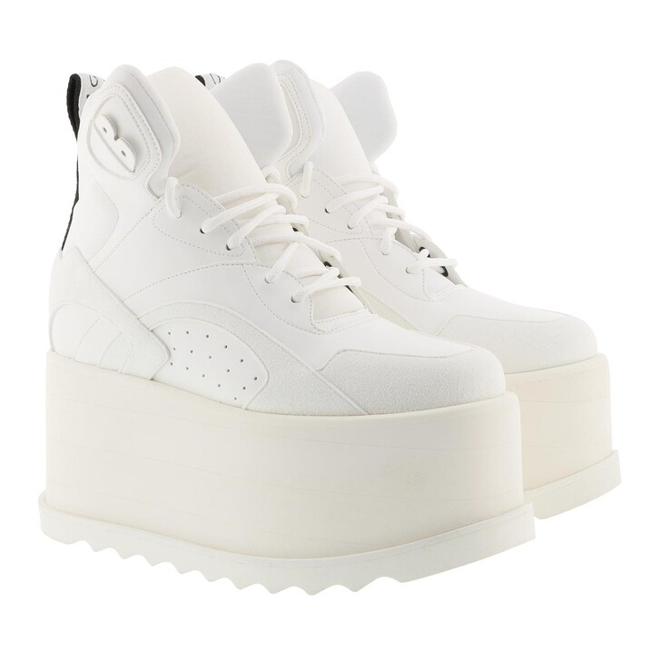 Schuh, Stella McCartney, Platform Shoes White