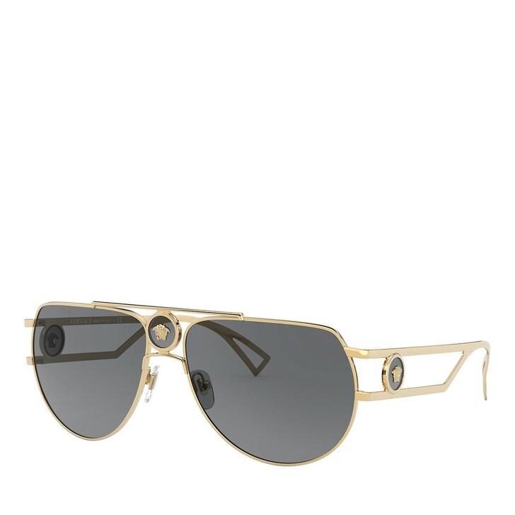 Sonnenbrille, Versace, 0VE2225 GOLD