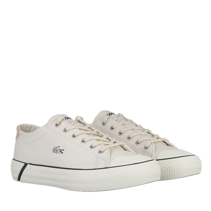Schuh, Lacoste, Gripshot Sneakrs Off White Black