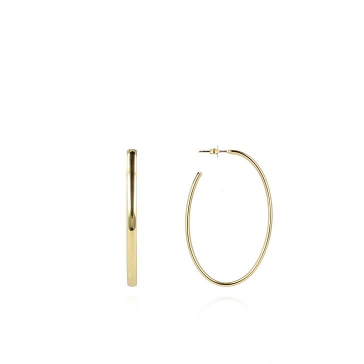 earrings, LOTT.gioielli, Earring Creole Oval Gold