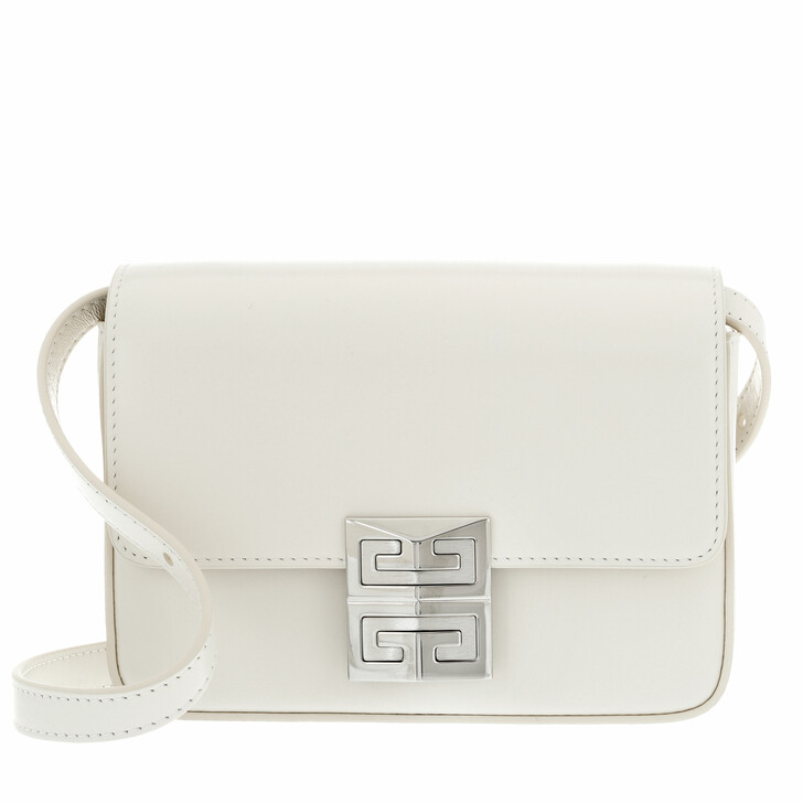 bags, Givenchy, 4G Small Crossbody Bag Ivory