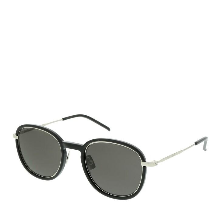 Sonnenbrille, Saint Laurent, SL 436-001 49 Sunglasses Unisex Injection Black