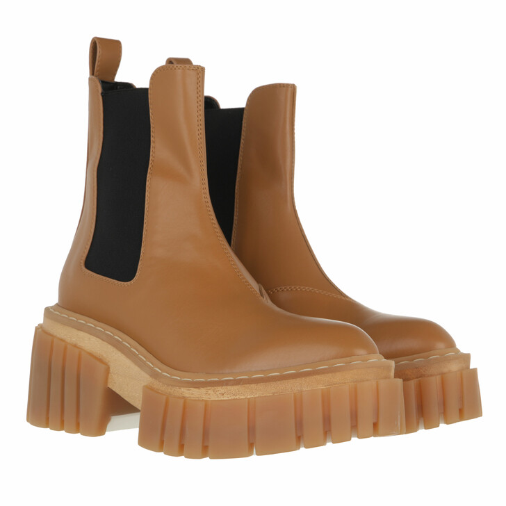shoes, Stella McCartney, Emilie Boot Brown