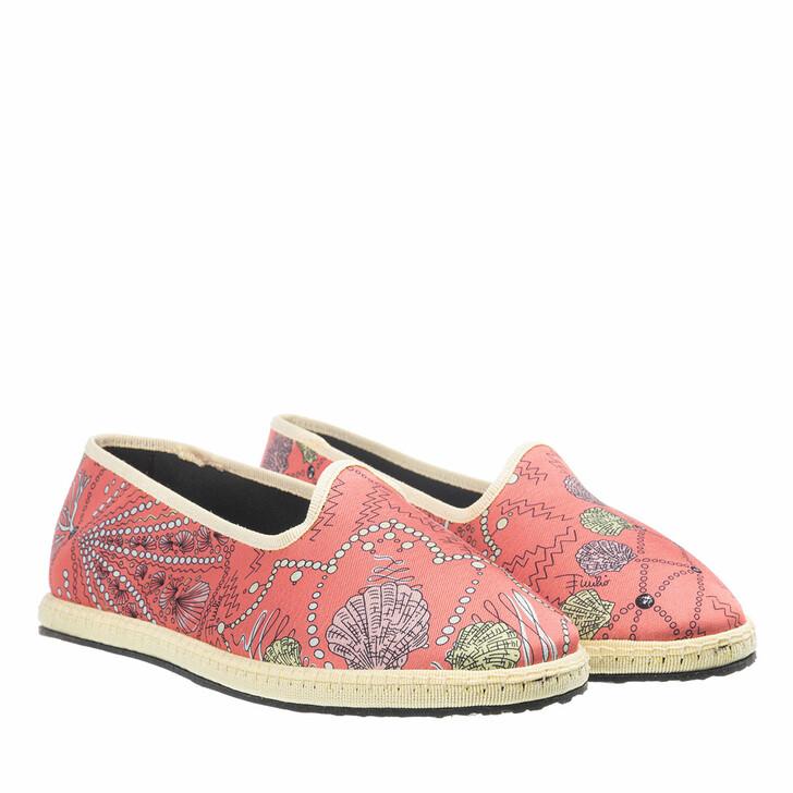 shoes, Emilio Pucci, Ballerina Shoes Conchiglie Baby Corallo