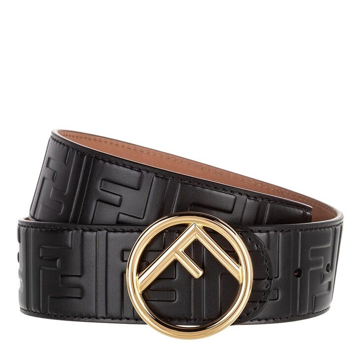 Gürtel, Fendi, Logo Belt Black