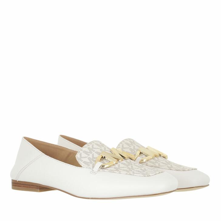 shoes, MICHAEL Michael Kors, Izzy Loafer Cream Multi