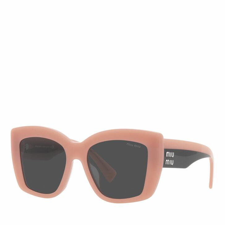 sunglasses, Miu Miu, Woman Sunglasses 0MU 04WS Pink Opal