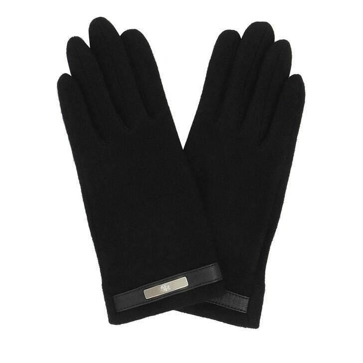 gloves, Lauren Ralph Lauren, Glove Wool Black