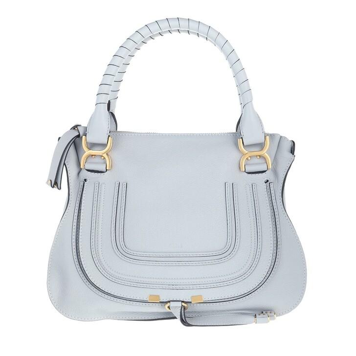 Handtasche, Chloé, Marcie Medium Shoulder Bag Light Cloud